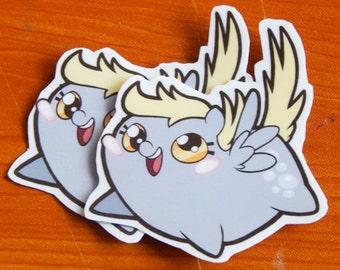 Chub Pony! Derpy Sticker