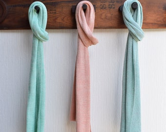 Any 3 Cotton Scarves - Pastels - Scarf Gift Set