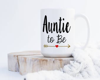 Auntie/Aunt to-Be or Uncle to-Be Coffee Mug