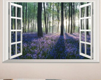 Brand New 3D Lavender Wall Picture