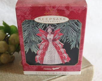 1997 Hallmark Keepsake Christmas Ornament - Holiday Barbie