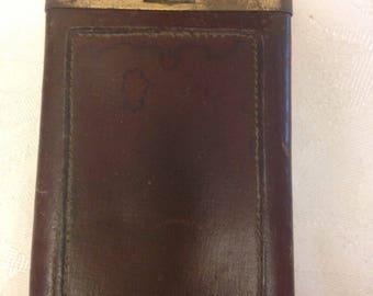 Rolf Vintage Leather Cigarette Case