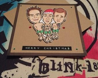Blink 182 christmas card