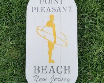 Rustic Surfer Beach Town Sign, Surfer Sign, Surf Sign, Surfer, Rustic Surf Sign, Rustic Surfer, Surfboard Sign, Beach Town Sign