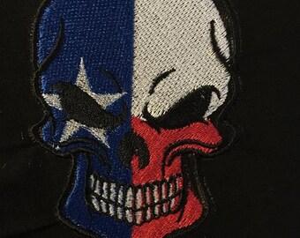 Texas Skull Patch