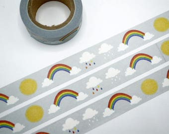 Rainbow Washi Tape/Japanese Washi Tape / Deco tape TZ1813