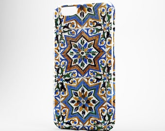 iPhone 8 Case Moroccan iPhone X Case Blue Phone Cover Morocco iPhone 7 Plus iPhone 6 Case iPhone 7 iPhone SE Case iPhone 5 Galaxy S8 Case