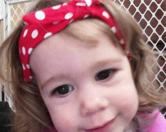 Baby Rosie Headband-Made to order-Ships with 1 week