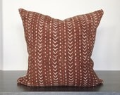 Mudcloth Pillow Cover - 18x18
