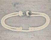 NEW! Adjustable Nautical Rope Belt with Anchor Buckle