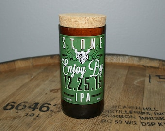 UPcycled Stash Jar - Stone Brewing Co. - Enjoy By 12.25.15