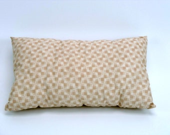Camping Pillow, White Cotton, Pillow For Teens, Rectangular Pillow, Bedroom Decor, Complete Pillow