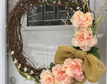 "24"" Spring Pastels Wreath"
