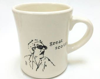 Great Scott! Back to the Future ceramic pottery mug