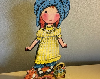 Holly Hobbie colorforms playset