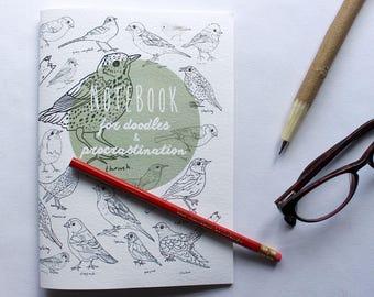 British Birds Notebook & Pencil set