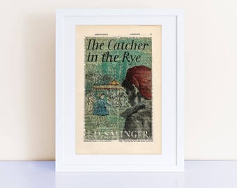 literary devices in the catcher in the rye by jdsalinger