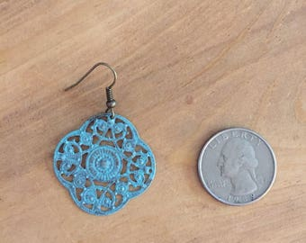 Mini Earrings- Sky Blue