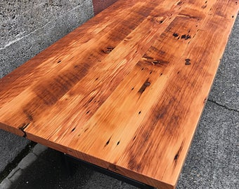 Reclaimed Wood Dining Table Handmade In Portland, OR