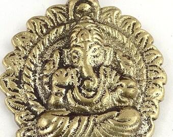 JEWEL TIBETAN GANESH Hindu nepal India Buddhism meditation ga2 jewel