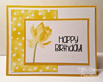 Lovely All Occasion Flower Card