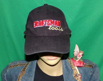 Vintage Craftsman Tools hat, Sears Craftsman Hat, Embroidered Baseball Cap, LOW & FAST Shipping
