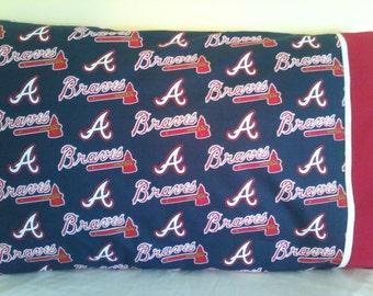 Atlanta Braves pillowcase