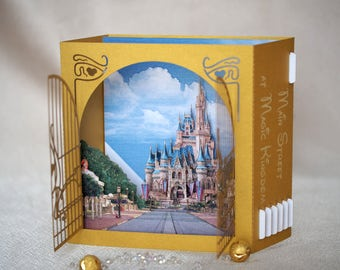 Magic Castle pop up card