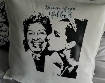 In Loving Memory Pillow Case - Rememberance Gift