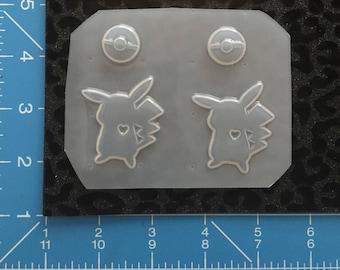 Cartoon  earrings mold