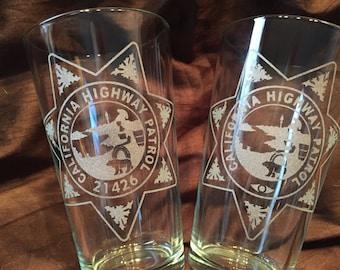 CHP pint glasses
