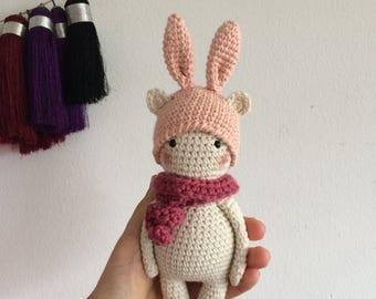 PATTERN! Bunny bear amigurumi pattern by Kedito PDF FILE -download