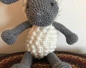 Crochet Sheep / Children's Lamb Toy / Handmade Stuffed Animal