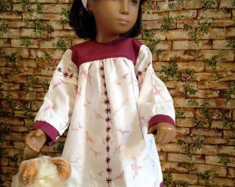 Dress for Sasha Doll handmade Cotten