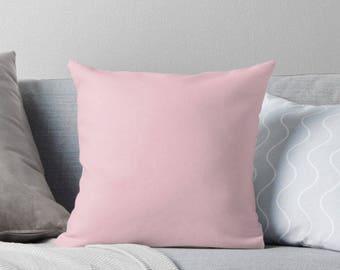 Blush Pink Pillow, Light Pink Pillow, Light Pink Throw Pillow, Pink Bedding, Blush Pink Bedding, Pink Cushion, Pink Toss Pillow, Blush Pink