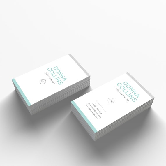 Business Card Template 07 2 Sided Business Card Design