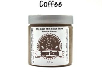 Coffee Sugar Scrub / Coffee Scrub