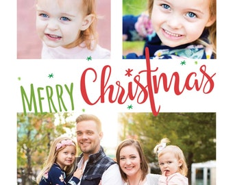Photo Christmas Card/ Digital Christmas Card/ Merry Christmas