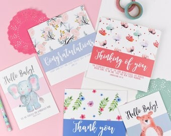 Luxury mixed card pack - Christian cards - Thank you card - Card pack -  Floral card - Encouraging card - thinking of you - sympathy card