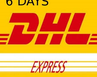 Express delivery will be in 6 days with you!