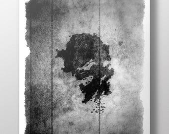 Kong: Skull Island Minimalist Poster