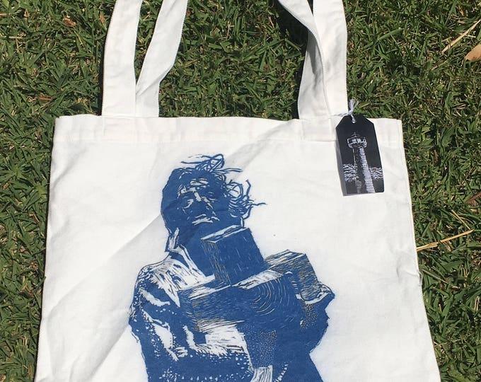 Salvador Dali Linocut design Tote Bag