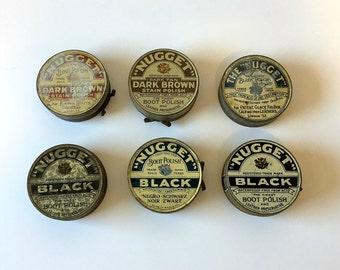 NUGGET Set of 6 Tins