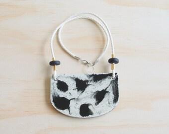 Resin Necklace | Wearable Art | Handmade | Batty