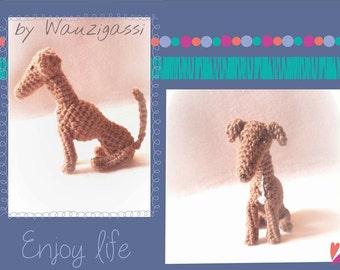 Greyhound Italian Greyhound Greyhound crochet