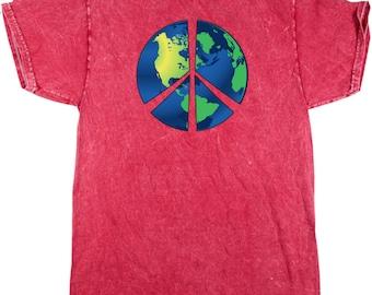 Blue Earth Adult Mineral Tie Dye Tee T-Shirt BLUEEARTH-1300