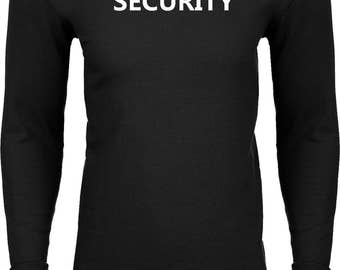 Men's Security Guard Thermal Shirt SECURITY-N8201