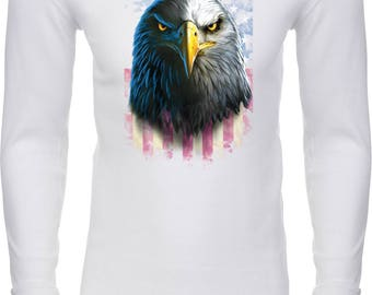 Men's Eagle Stare Thermal Shirt 20412D0-N8201