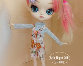 Floral overalls for dals and obitsu 21 23 only!