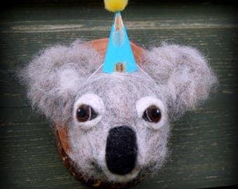 Needle Felted Koala Bear